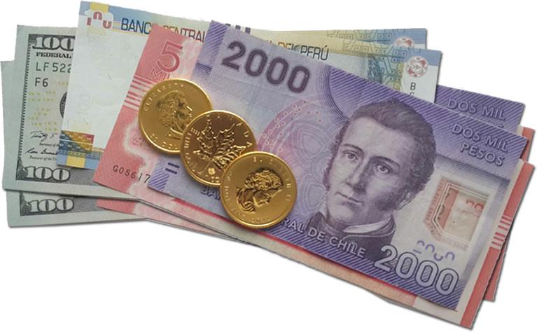 Dinero en efectivo y oro son un  respaldo ante la crisis