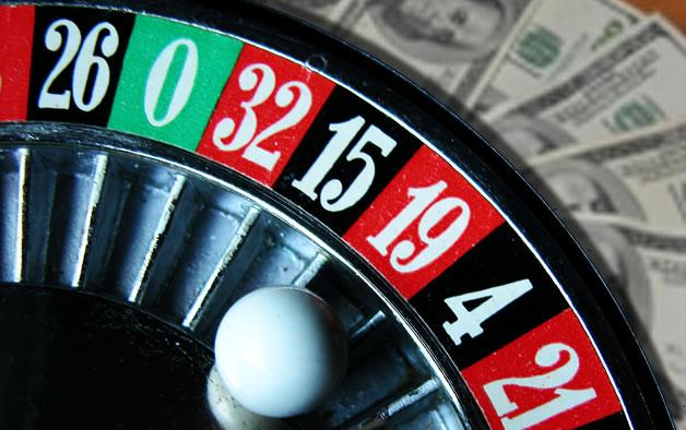 Ruleta de casino que grafica las apuestas a la suba o baja de acciones, divisas y otros valores
